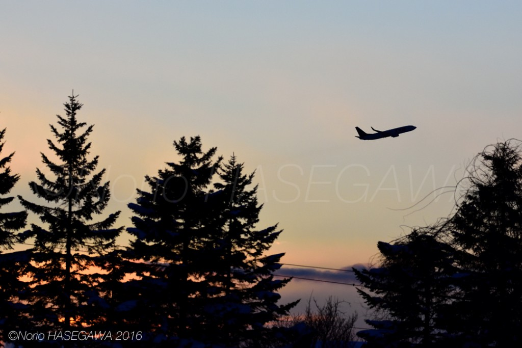 Take-off in the afterglow #2